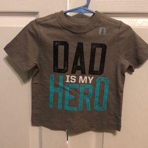 Dad is My Hero Shirt